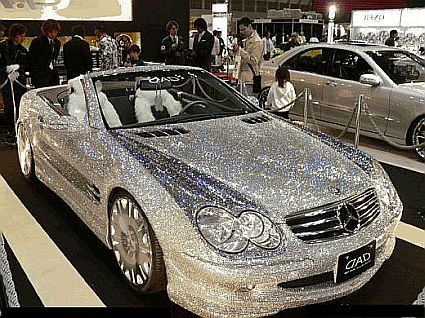 Diamond Mercedes Benz SL500 500SL SLR SL Custom Benz Roadster