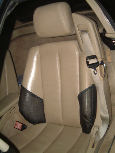 Mercedes Benz SL500 500SL SLR SL Custom Benz Roadster Seat Cover